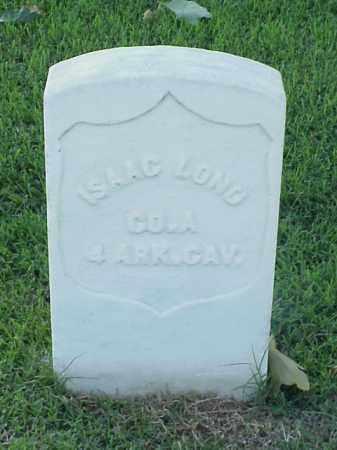 LONG (VETERAN UNION), ISAAC - Pulaski County, Arkansas   ISAAC LONG (VETERAN UNION) - Arkansas Gravestone Photos