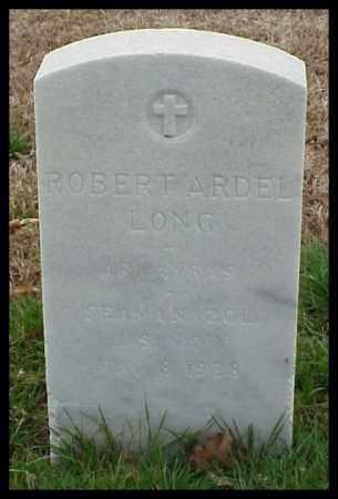 LONG (VETERAN WWI), ROBERT ARDEL - Pulaski County, Arkansas   ROBERT ARDEL LONG (VETERAN WWI) - Arkansas Gravestone Photos