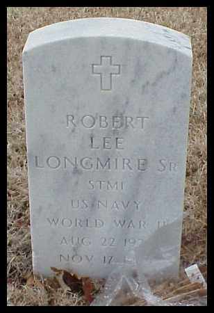 LONGMIRE, SR (VETERAN WWII), ROBERT LEE - Pulaski County, Arkansas | ROBERT LEE LONGMIRE, SR (VETERAN WWII) - Arkansas Gravestone Photos