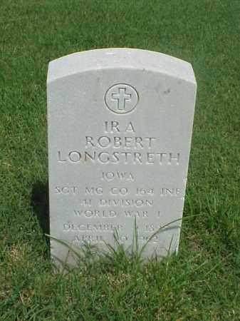 LONGSTRETH (VETERAN WWI), IRA ROBERT - Pulaski County, Arkansas | IRA ROBERT LONGSTRETH (VETERAN WWI) - Arkansas Gravestone Photos