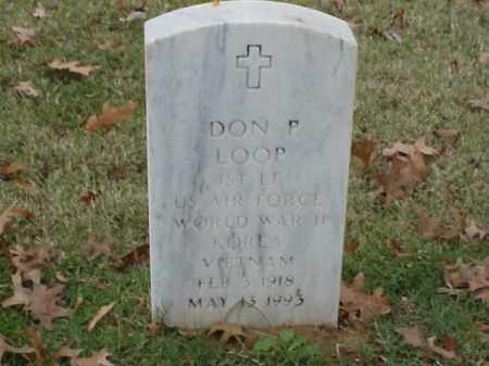 LOOP (VETERAN 3 WARS), DON P - Pulaski County, Arkansas | DON P LOOP (VETERAN 3 WARS) - Arkansas Gravestone Photos
