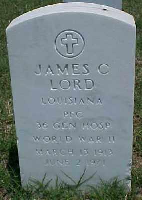 LORD (VETERAN WWII), JAMES C - Pulaski County, Arkansas | JAMES C LORD (VETERAN WWII) - Arkansas Gravestone Photos