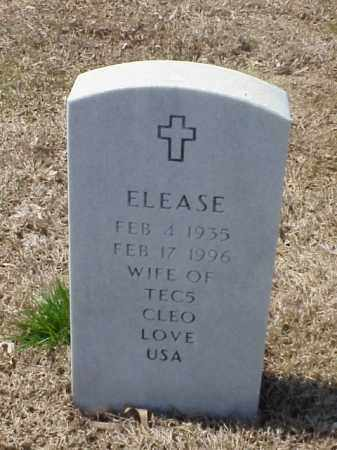 LOVE, ELEASE - Pulaski County, Arkansas | ELEASE LOVE - Arkansas Gravestone Photos