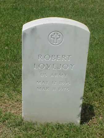 LOVEJOY (VETERAN WWI), ROBERT - Pulaski County, Arkansas | ROBERT LOVEJOY (VETERAN WWI) - Arkansas Gravestone Photos