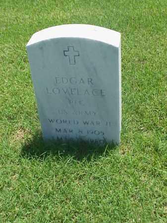 LOVELACE (VETERAN WWII), EDGAR - Pulaski County, Arkansas | EDGAR LOVELACE (VETERAN WWII) - Arkansas Gravestone Photos