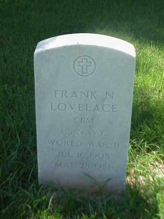 LOVELACE (VETERAN WWII), FRANK N - Pulaski County, Arkansas   FRANK N LOVELACE (VETERAN WWII) - Arkansas Gravestone Photos