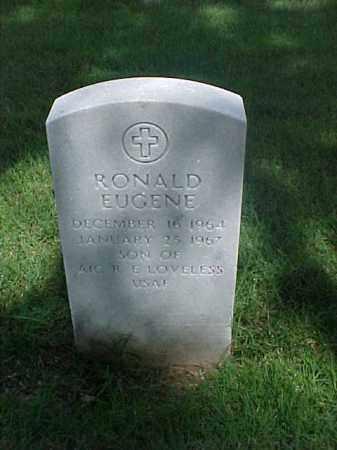 LOVELESS, RONALD EUGENE - Pulaski County, Arkansas   RONALD EUGENE LOVELESS - Arkansas Gravestone Photos