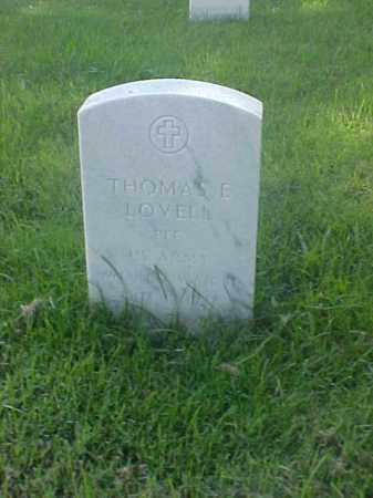 LOVELL (VETERAN WWII), THOMAS E - Pulaski County, Arkansas | THOMAS E LOVELL (VETERAN WWII) - Arkansas Gravestone Photos