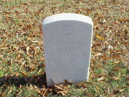 LOVETT (VETERAN KOR), JACKIE H - Pulaski County, Arkansas | JACKIE H LOVETT (VETERAN KOR) - Arkansas Gravestone Photos