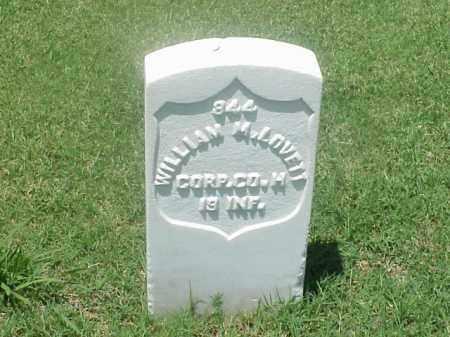 LOVETT (VETERAN UNION), WILLIAM M - Pulaski County, Arkansas | WILLIAM M LOVETT (VETERAN UNION) - Arkansas Gravestone Photos