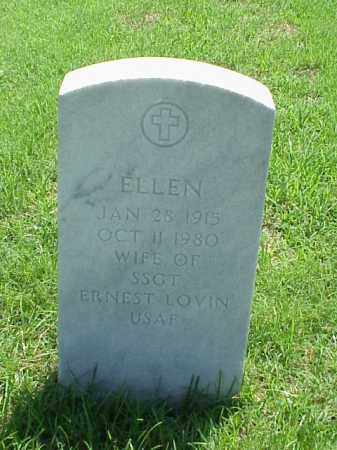 LOVIN, ELLEN - Pulaski County, Arkansas | ELLEN LOVIN - Arkansas Gravestone Photos