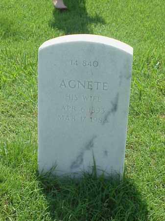 LOWE, AGNETE - Pulaski County, Arkansas | AGNETE LOWE - Arkansas Gravestone Photos