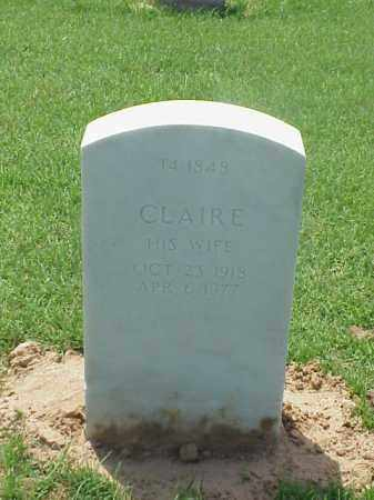 LOWE, CLAIRE - Pulaski County, Arkansas | CLAIRE LOWE - Arkansas Gravestone Photos