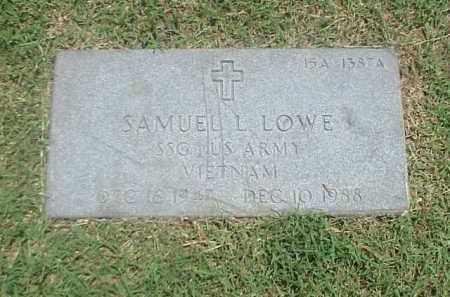 LOWE (VETERAN VIET), SAMUEL L - Pulaski County, Arkansas | SAMUEL L LOWE (VETERAN VIET) - Arkansas Gravestone Photos