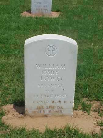 LOWE (VETERAN WWII), WILLIAM OSBY - Pulaski County, Arkansas   WILLIAM OSBY LOWE (VETERAN WWII) - Arkansas Gravestone Photos