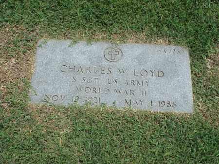 LOYD (VETERAN WWII), CHARLES W - Pulaski County, Arkansas | CHARLES W LOYD (VETERAN WWII) - Arkansas Gravestone Photos