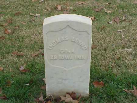 LOYND (VETERAN UNION), THOMAS - Pulaski County, Arkansas | THOMAS LOYND (VETERAN UNION) - Arkansas Gravestone Photos