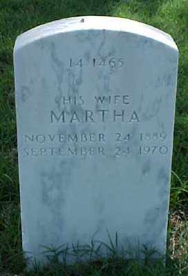 LUBERT, MARTHA - Pulaski County, Arkansas | MARTHA LUBERT - Arkansas Gravestone Photos