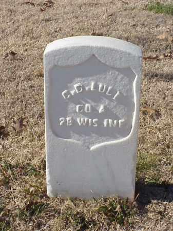 LUCE (VETERAN UNION), C D - Pulaski County, Arkansas | C D LUCE (VETERAN UNION) - Arkansas Gravestone Photos
