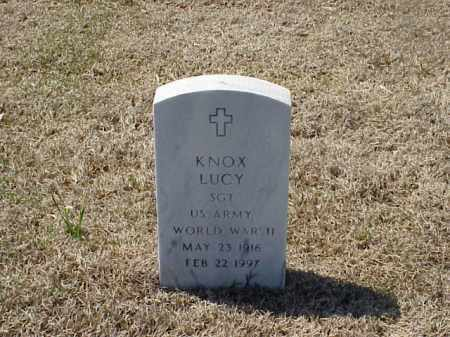 LUCY (VETERAN WWII), KNOX - Pulaski County, Arkansas | KNOX LUCY (VETERAN WWII) - Arkansas Gravestone Photos