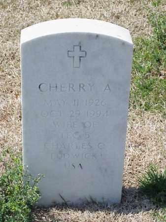 LUDWICK, CHERRY A - Pulaski County, Arkansas | CHERRY A LUDWICK - Arkansas Gravestone Photos
