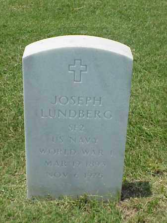 LUNDBERG (VETERAN WWI), JOSEPH - Pulaski County, Arkansas   JOSEPH LUNDBERG (VETERAN WWI) - Arkansas Gravestone Photos