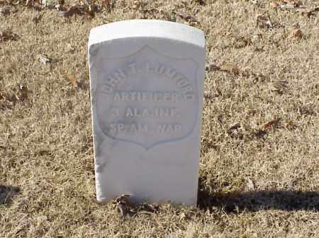 LUNFORK (VETERAN SAW), JOHN T - Pulaski County, Arkansas   JOHN T LUNFORK (VETERAN SAW) - Arkansas Gravestone Photos