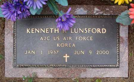 LUNSFORD (VETERAN KOR), KENNETH R - Pulaski County, Arkansas | KENNETH R LUNSFORD (VETERAN KOR) - Arkansas Gravestone Photos