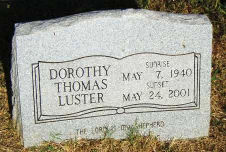 LUSTER, DOROTHY - Pulaski County, Arkansas | DOROTHY LUSTER - Arkansas Gravestone Photos
