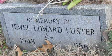 EDWARD LUSTER, JEWEL - Pulaski County, Arkansas | JEWEL EDWARD LUSTER - Arkansas Gravestone Photos