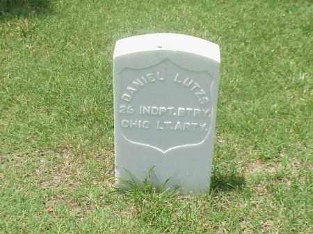 LUTZS (VETERAN UNION), DANIEL - Pulaski County, Arkansas | DANIEL LUTZS (VETERAN UNION) - Arkansas Gravestone Photos