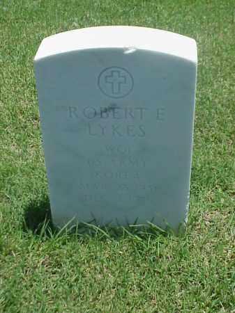 LYKES (VETERAN KOR), ROBERT E - Pulaski County, Arkansas | ROBERT E LYKES (VETERAN KOR) - Arkansas Gravestone Photos