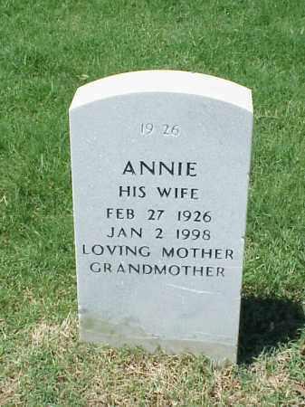LYNCH, ANNIE - Pulaski County, Arkansas | ANNIE LYNCH - Arkansas Gravestone Photos