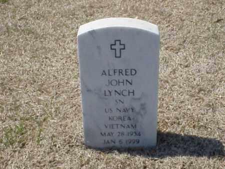 LYNCH (VETERAN 2 WARS), ALFRED JOHN - Pulaski County, Arkansas   ALFRED JOHN LYNCH (VETERAN 2 WARS) - Arkansas Gravestone Photos