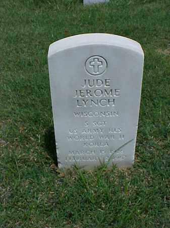 LYNCH (VETERAN 2 WARS), JUDE JEROME - Pulaski County, Arkansas | JUDE JEROME LYNCH (VETERAN 2 WARS) - Arkansas Gravestone Photos