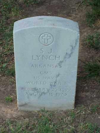 LYNCH (VETERAN WWI), S J - Pulaski County, Arkansas   S J LYNCH (VETERAN WWI) - Arkansas Gravestone Photos
