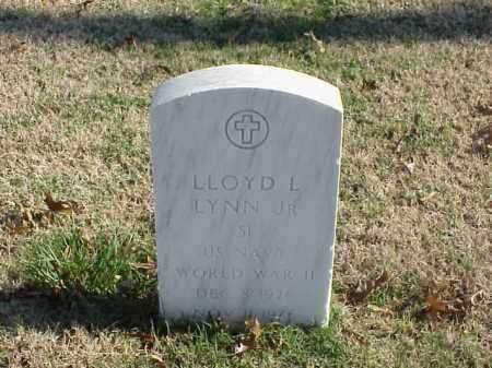 LYNN, JR (VETERAN WWII), LLOYD L - Pulaski County, Arkansas | LLOYD L LYNN, JR (VETERAN WWII) - Arkansas Gravestone Photos