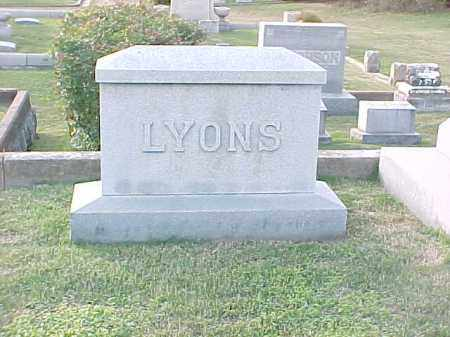 LYONS FAMILY STONE,  - Pulaski County, Arkansas |  LYONS FAMILY STONE - Arkansas Gravestone Photos