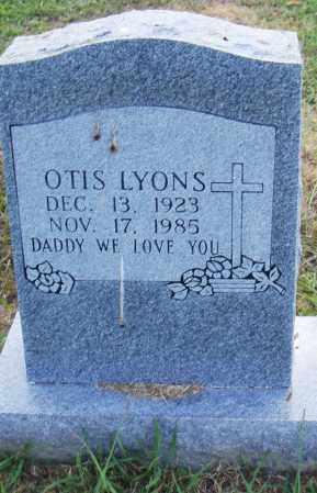 LYONS, OTIS - Pulaski County, Arkansas | OTIS LYONS - Arkansas Gravestone Photos