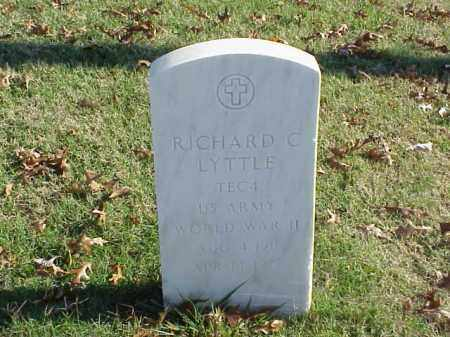 LYTTLE (VETERAN WWII), RICHARD C - Pulaski County, Arkansas | RICHARD C LYTTLE (VETERAN WWII) - Arkansas Gravestone Photos