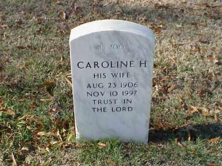 MAAS, CAROLINE H - Pulaski County, Arkansas | CAROLINE H MAAS - Arkansas Gravestone Photos