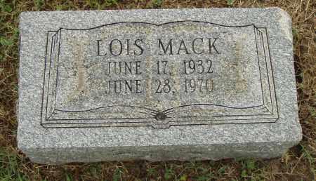 MACK, LOIS - Pulaski County, Arkansas | LOIS MACK - Arkansas Gravestone Photos