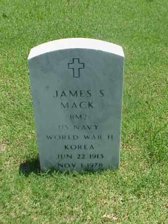 MACK (VETERAN 2 WARS), JAMES S - Pulaski County, Arkansas | JAMES S MACK (VETERAN 2 WARS) - Arkansas Gravestone Photos
