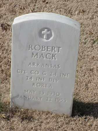 MACK (VETERAN KOR), ROBERT - Pulaski County, Arkansas | ROBERT MACK (VETERAN KOR) - Arkansas Gravestone Photos