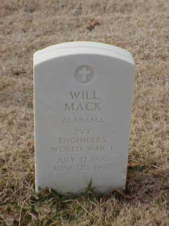 MACK (VETERAN WWI), WILL - Pulaski County, Arkansas | WILL MACK (VETERAN WWI) - Arkansas Gravestone Photos