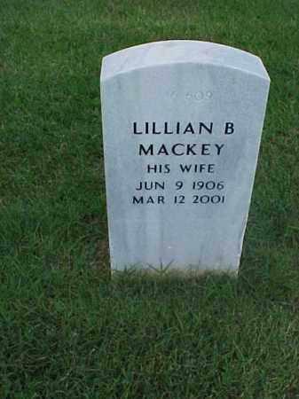 MACKEY, LILLIAN B - Pulaski County, Arkansas | LILLIAN B MACKEY - Arkansas Gravestone Photos