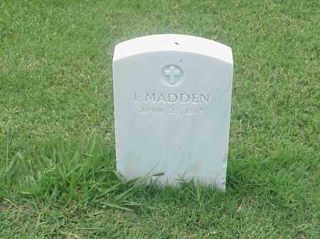 MADDEN, I - Pulaski County, Arkansas   I MADDEN - Arkansas Gravestone Photos