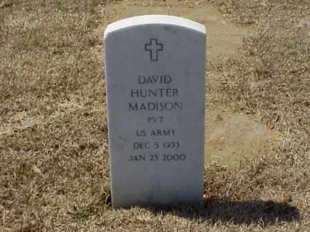 MADISON (VETERAN), DAVID HUNTER - Pulaski County, Arkansas | DAVID HUNTER MADISON (VETERAN) - Arkansas Gravestone Photos
