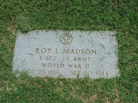 MADSON (VETERAN WWII), ROY L - Pulaski County, Arkansas | ROY L MADSON (VETERAN WWII) - Arkansas Gravestone Photos