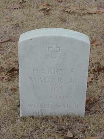 MAGAR, JR (VETERAN WWII), HARRY E - Pulaski County, Arkansas | HARRY E MAGAR, JR (VETERAN WWII) - Arkansas Gravestone Photos